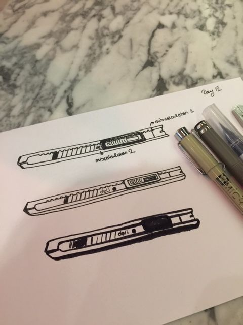 Drawing My Tools - image 16 - student project