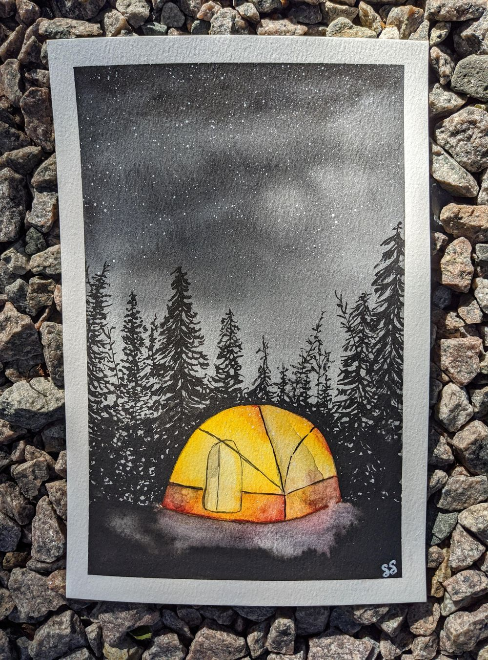 Pine Woods Camping - image 1 - student project