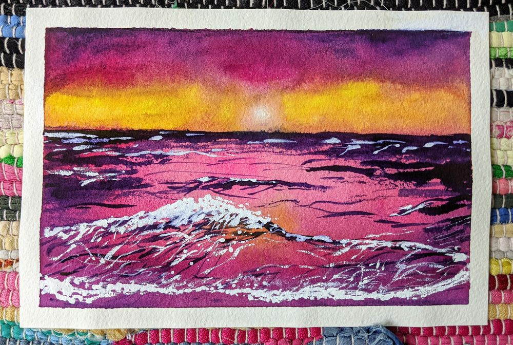 Beachscapes - an amazing class! - image 4 - student project