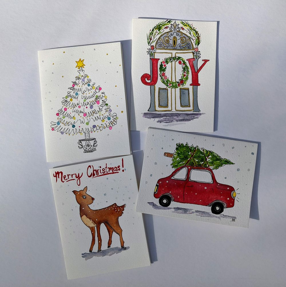 Holiday Cards - image 4 - student project