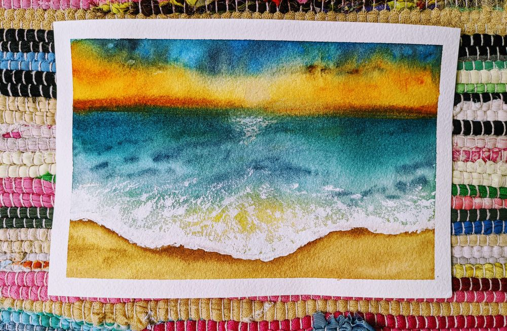 Beachscapes - an amazing class! - image 3 - student project