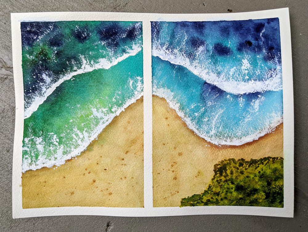 Beachscapes - an amazing class! - image 1 - student project