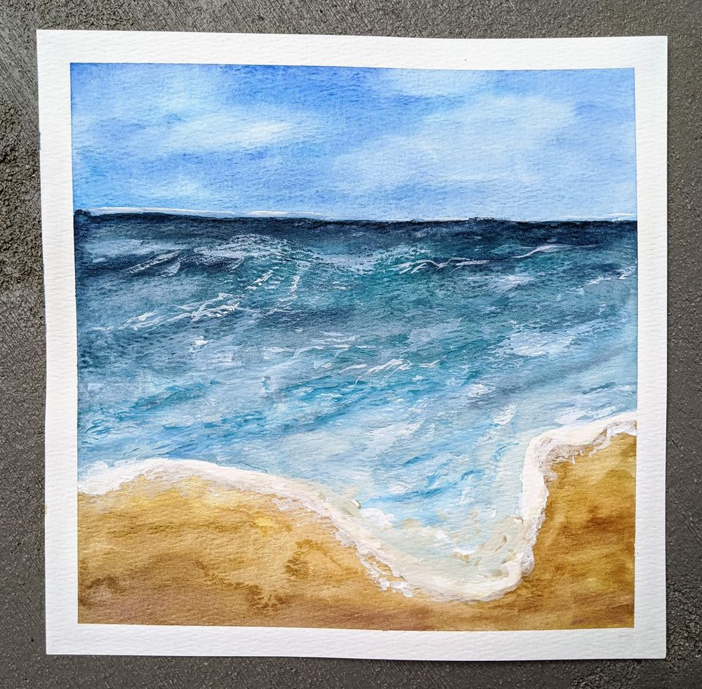 Beachscapes - an amazing class! - image 2 - student project