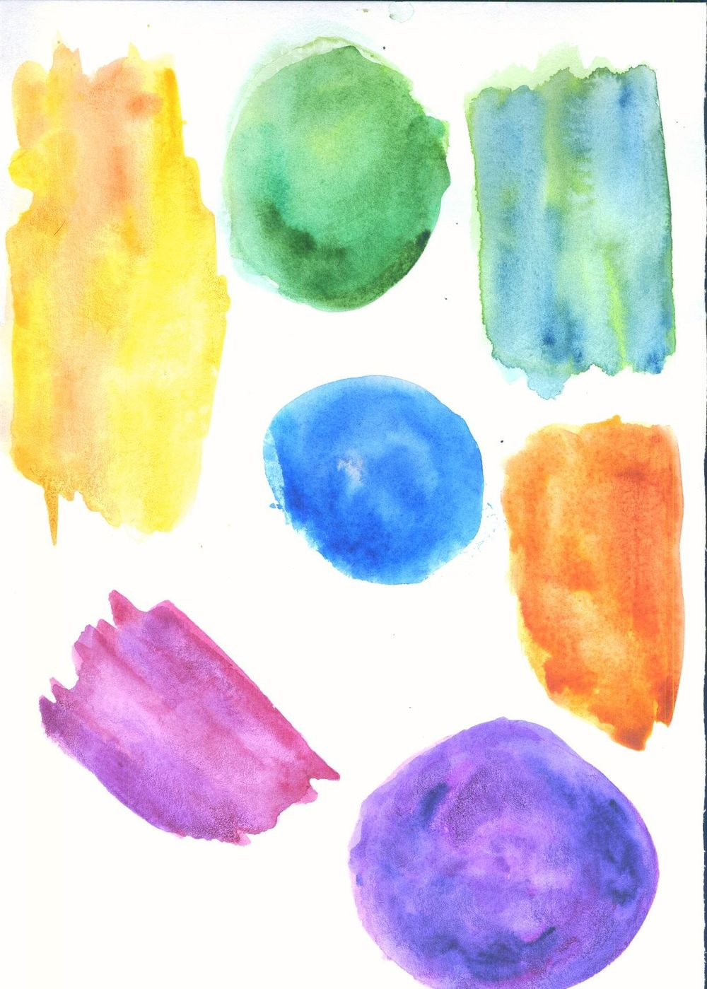 watercolor texture - image 1 - student project