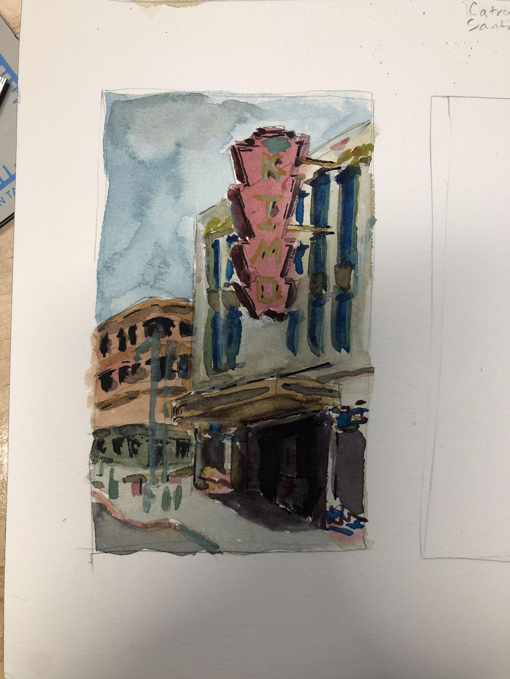Small Sketches around New Mexico - image 1 - student project