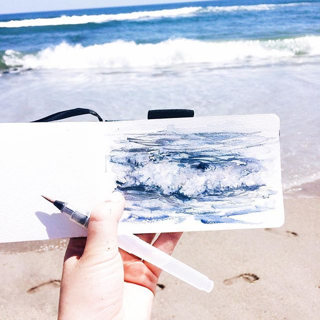 en plein air wave - image 1 - student project