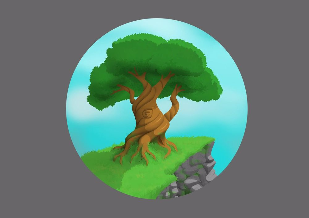 Skull and Bonsai - image 1 - student project