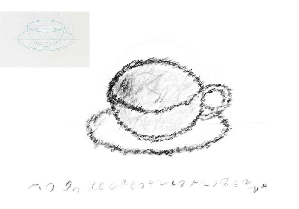 Dynamic Mark Making - 3 Cups - image 3 - student project