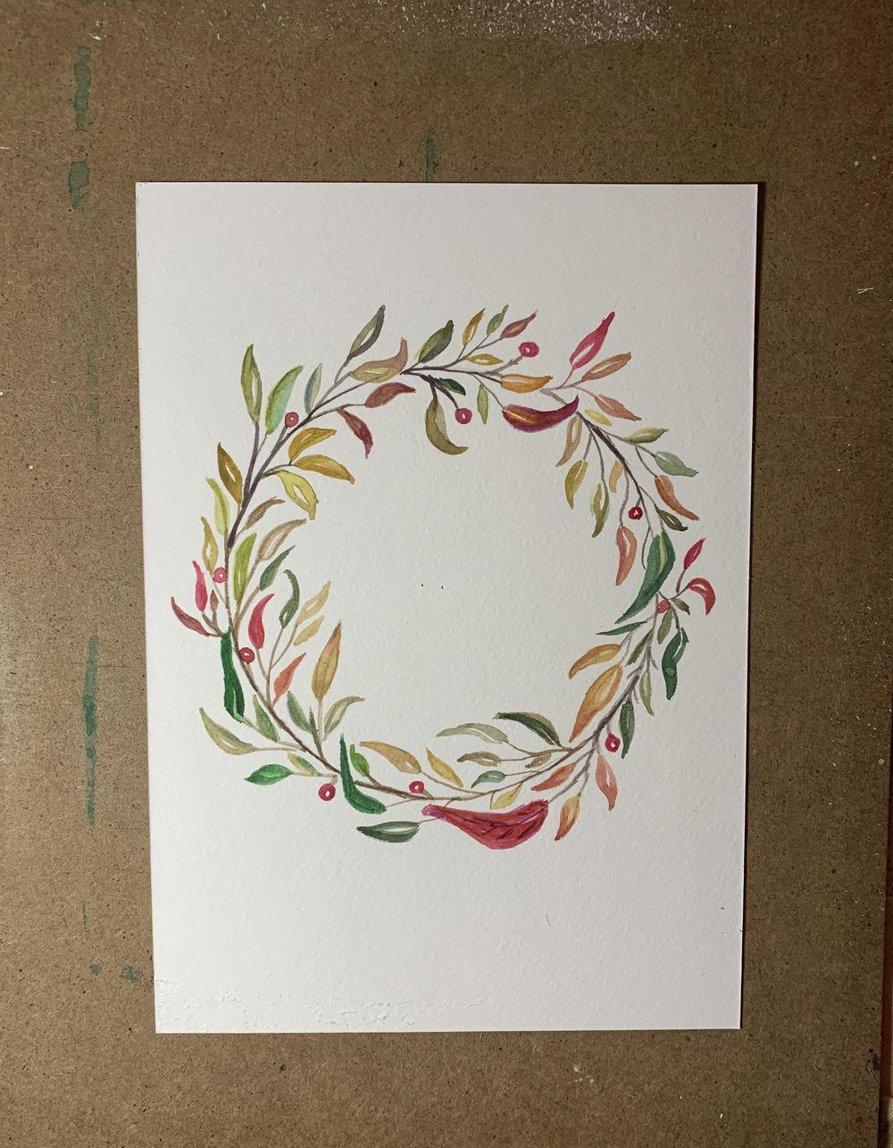 Corona de hojas - image 1 - student project
