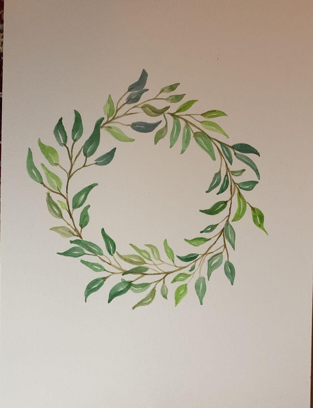 Corona de hojas - image 2 - student project