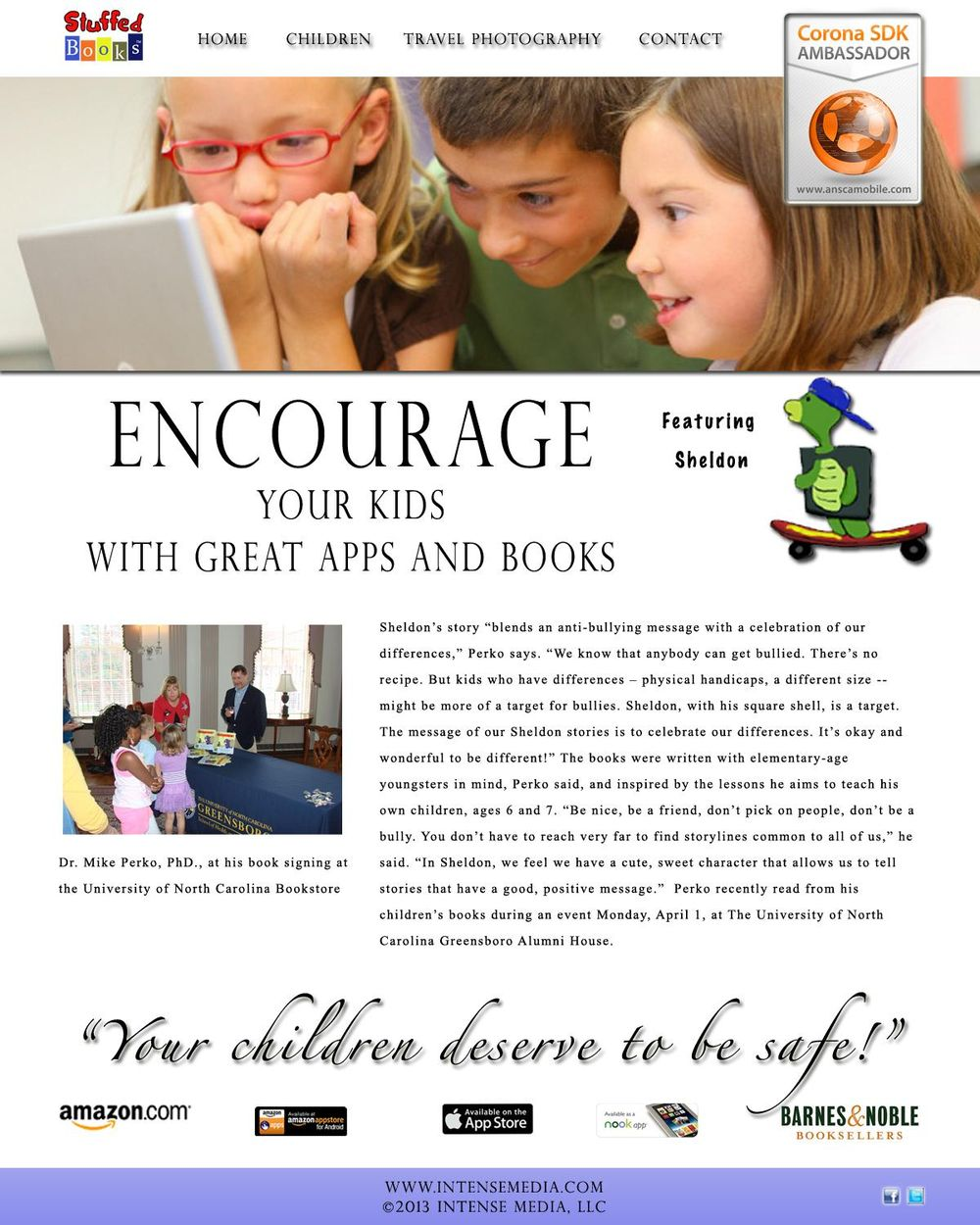 Stuffed Books: Encourage, Inspire, Motivate - image 1 - student project
