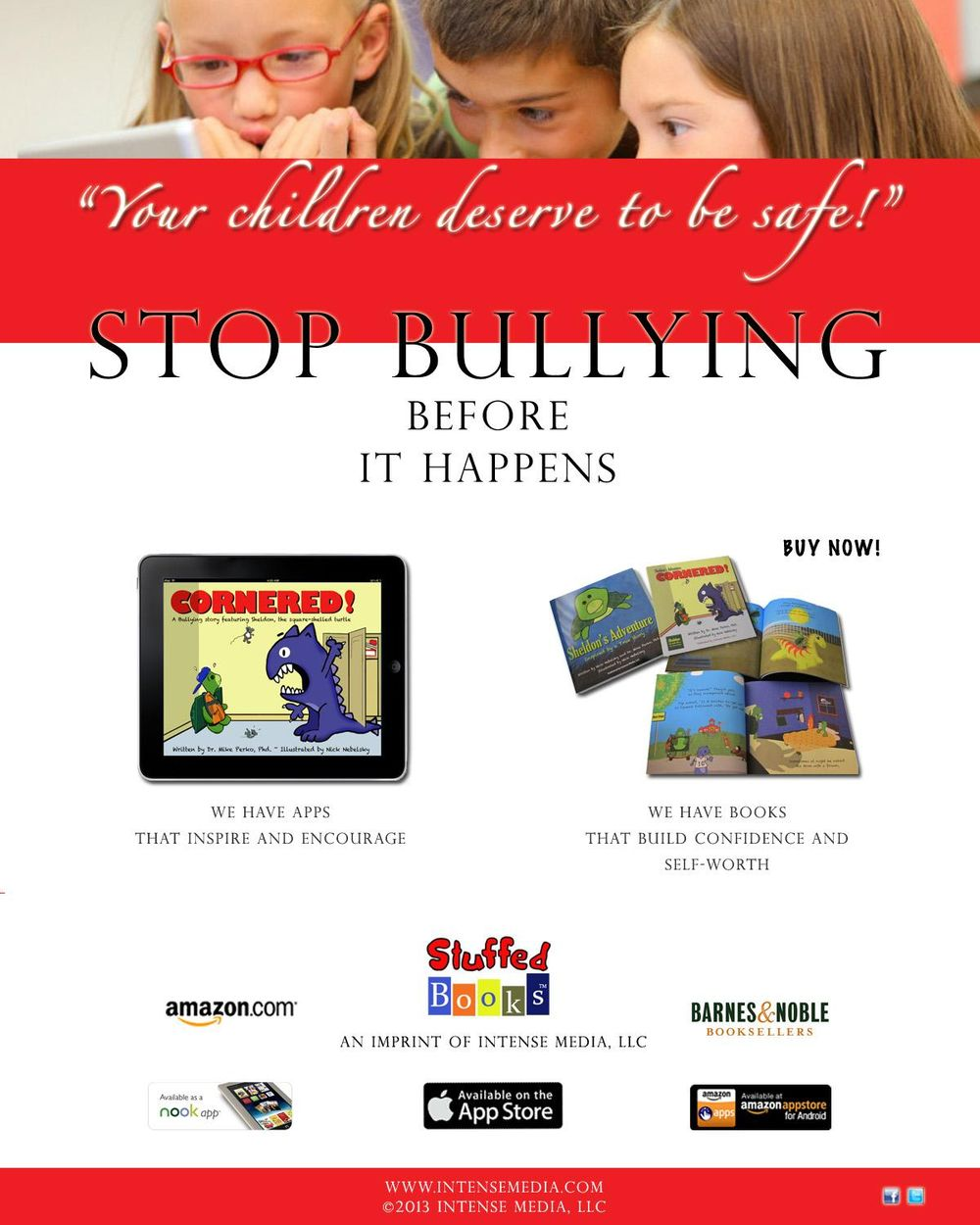 Stuffed Books: Encourage, Inspire, Motivate - image 2 - student project