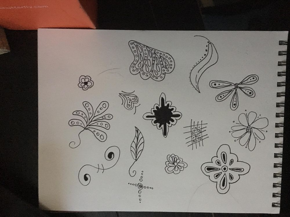 Drawings turned to patterns - image 1 - student project