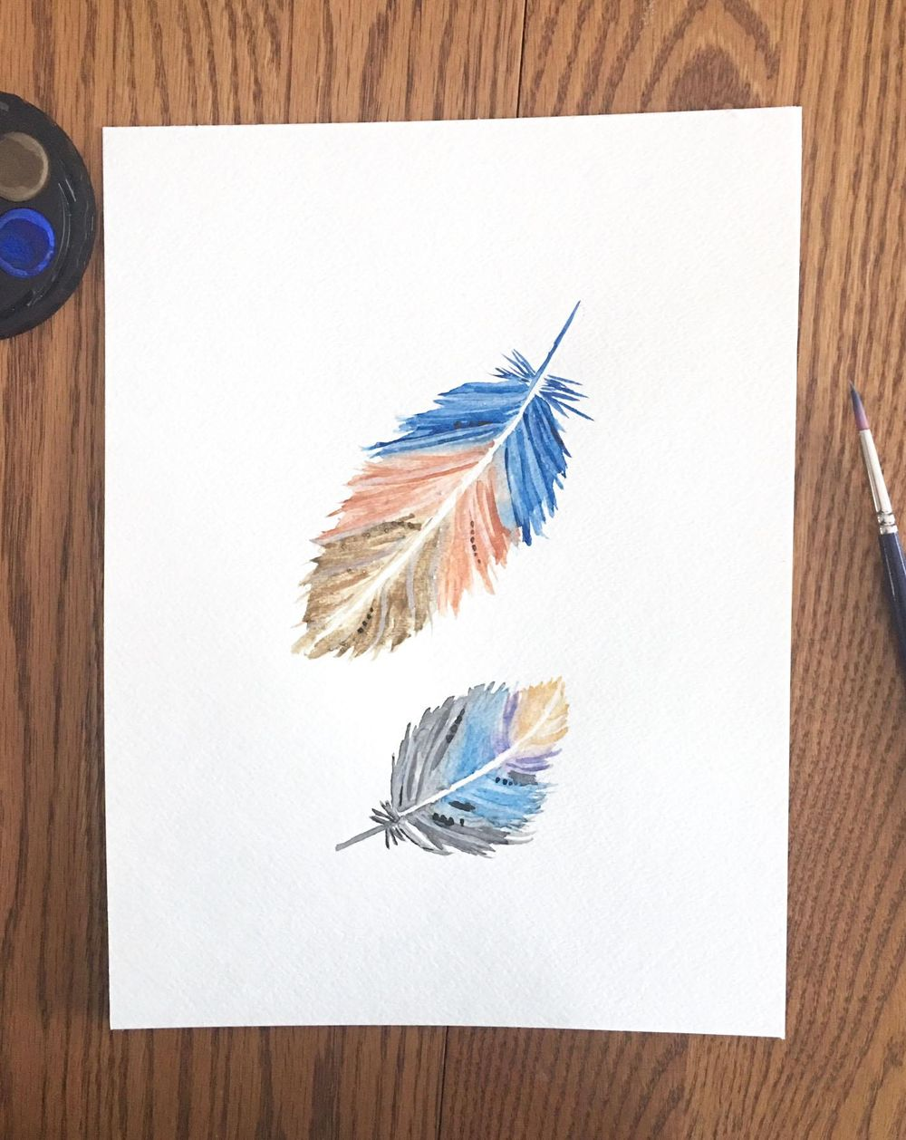 Watercolour Feathers Try 1! - image 3 - student project