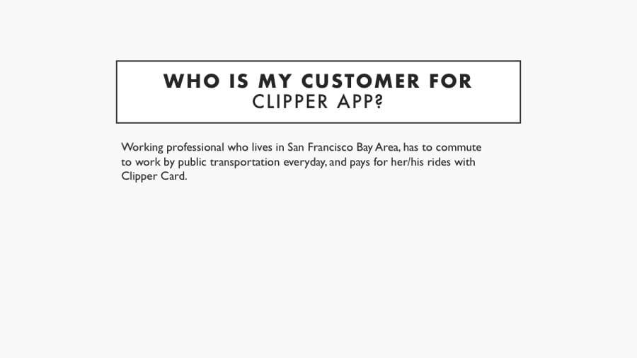 Proto persona for Clipper App - image 2 - student project