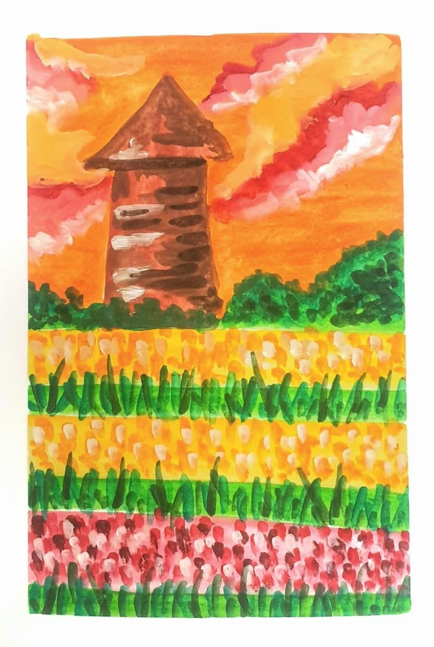 Gouache kick-starter: Painting Meadows- Class Projects - image 2 - student project