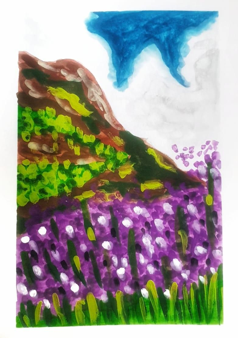 Gouache kick-starter: Painting Meadows- Class Projects - image 4 - student project