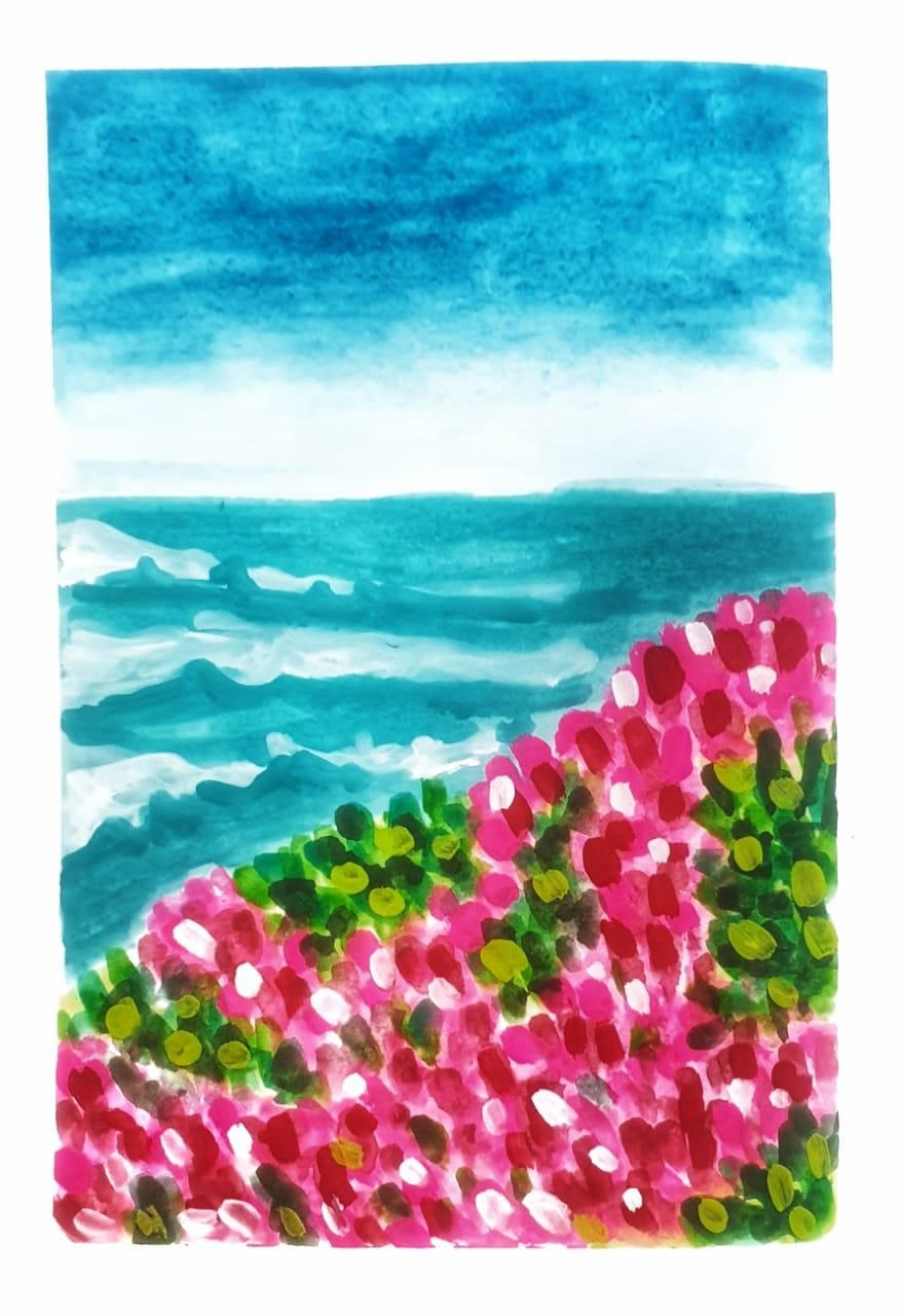 Gouache kick-starter: Painting Meadows- Class Projects - image 5 - student project