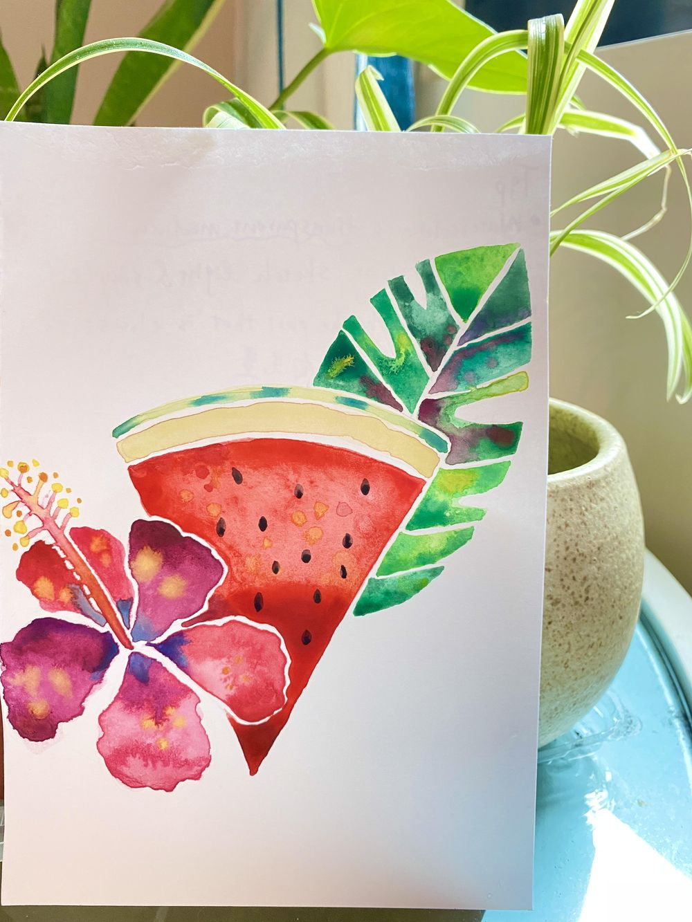 Vera loves watercolor - image 1 - student project