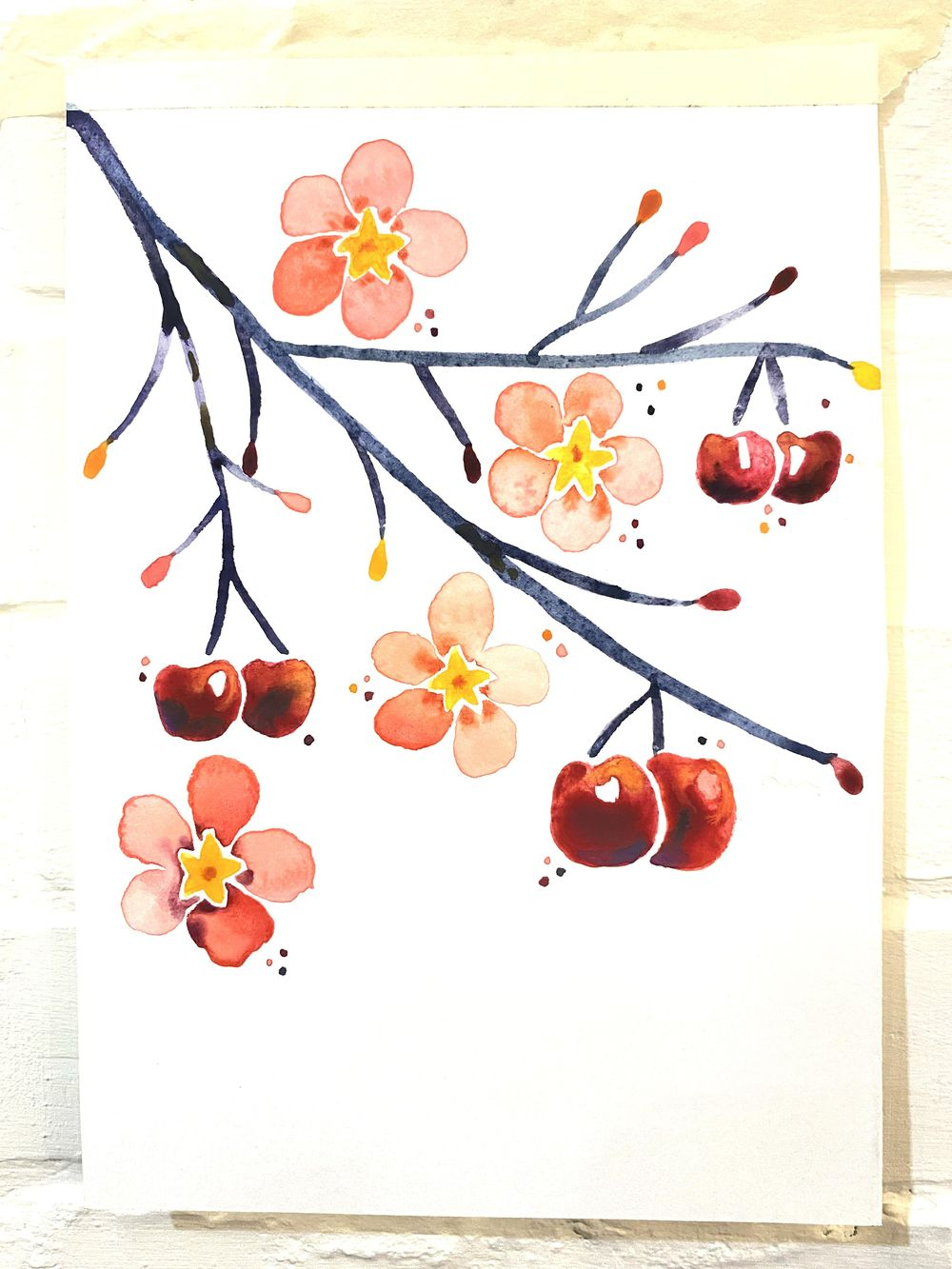Vera loves watercolor - image 3 - student project