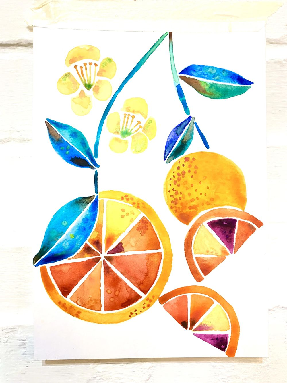 Vera loves watercolor - image 2 - student project