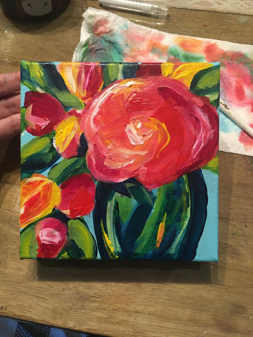 Abstract Floral - image 1 - student project