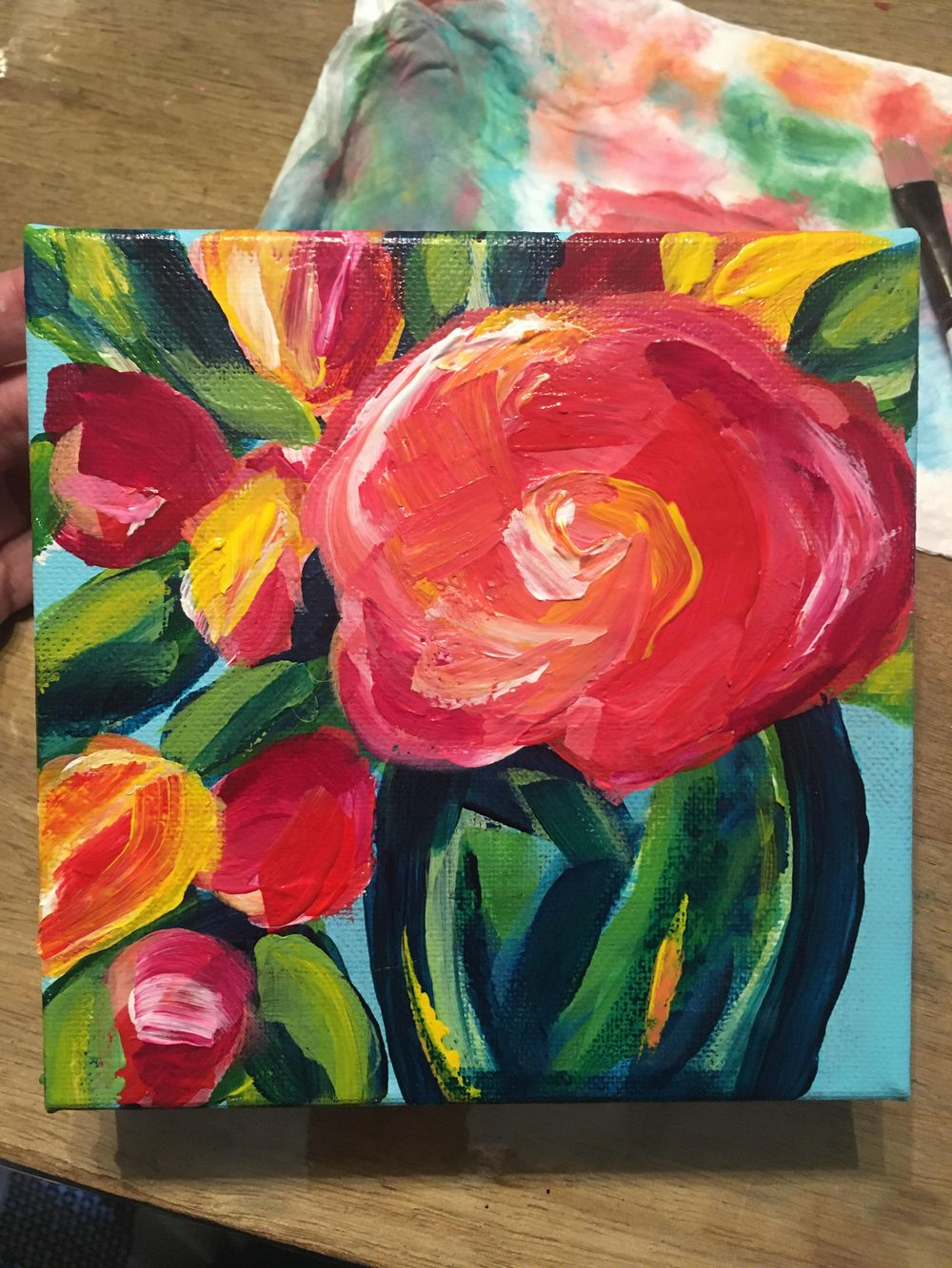 Abstract Floral - image 2 - student project