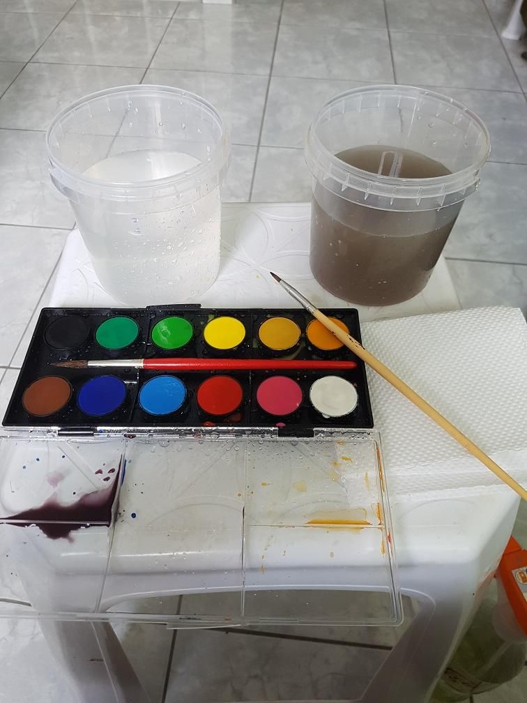 Child-school graded watercolor..   - image 1 - student project