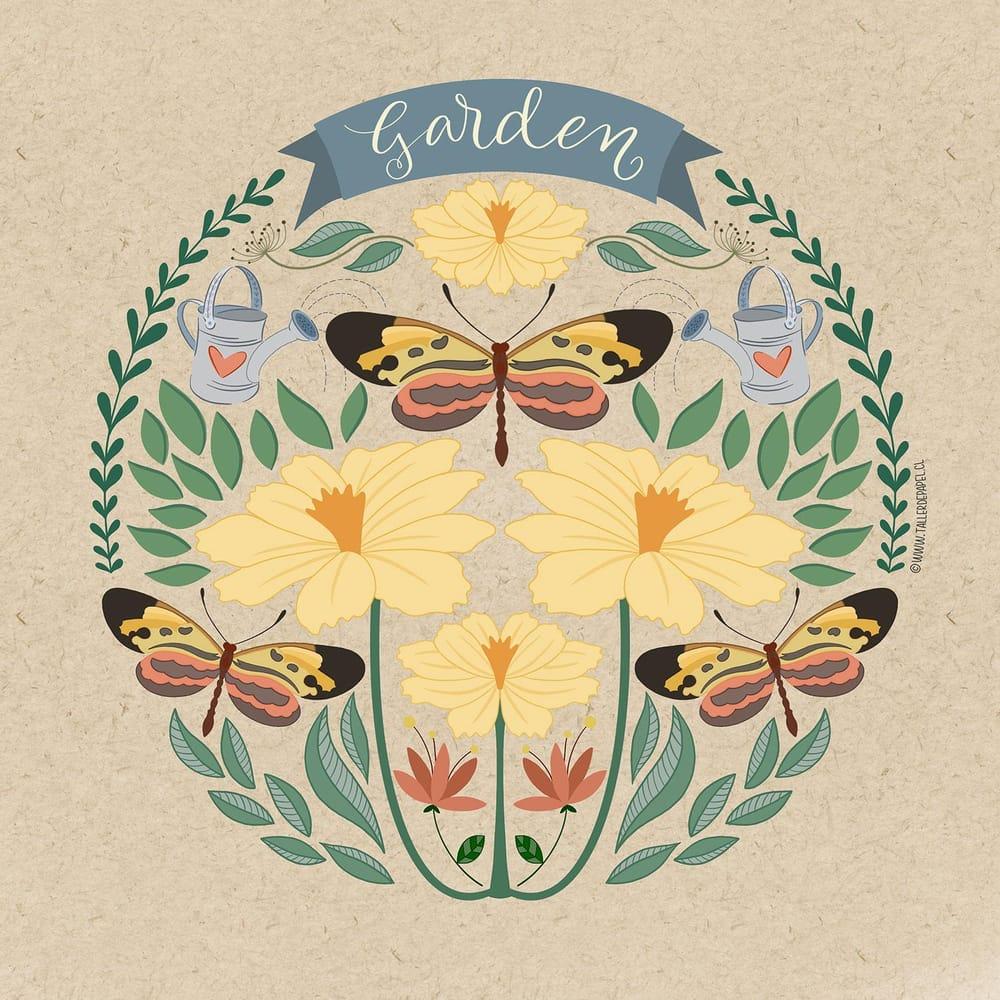 Folk Art - Garden - image 1 - student project