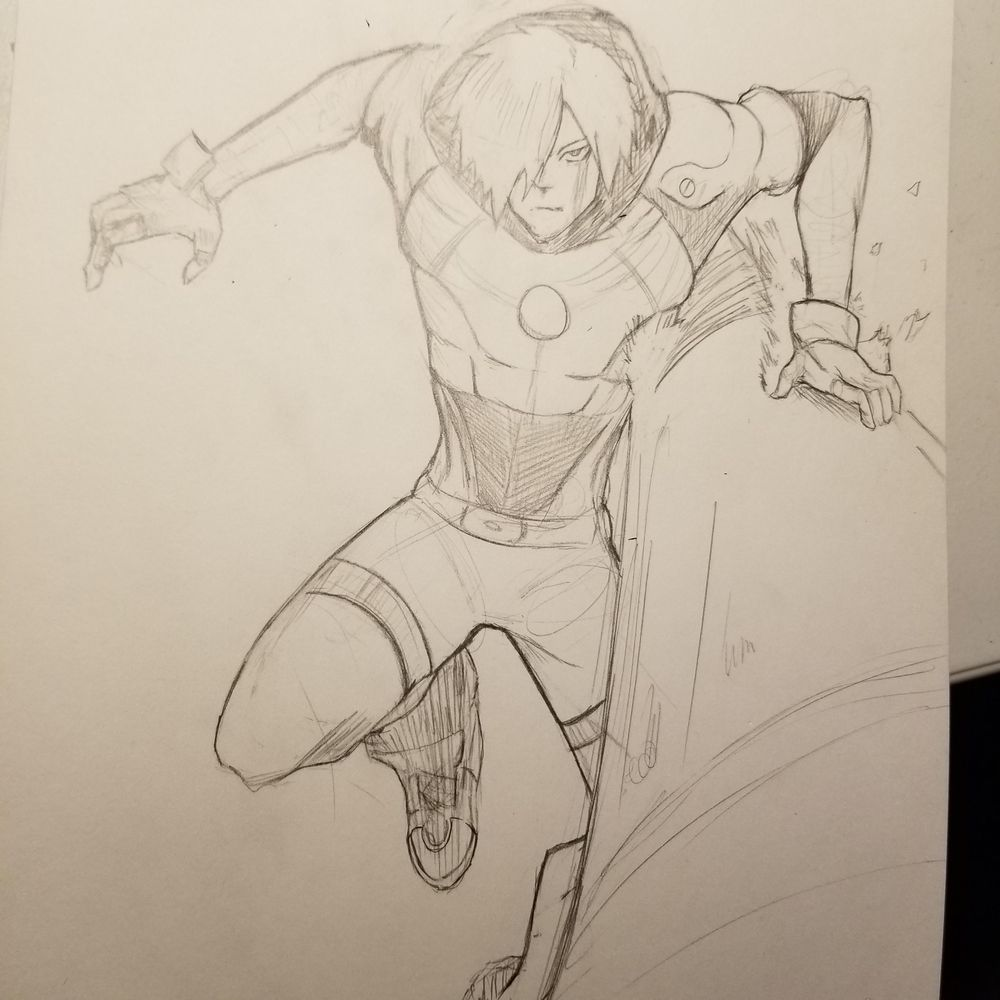 been practicing my figures for my short story - image 1 - student project