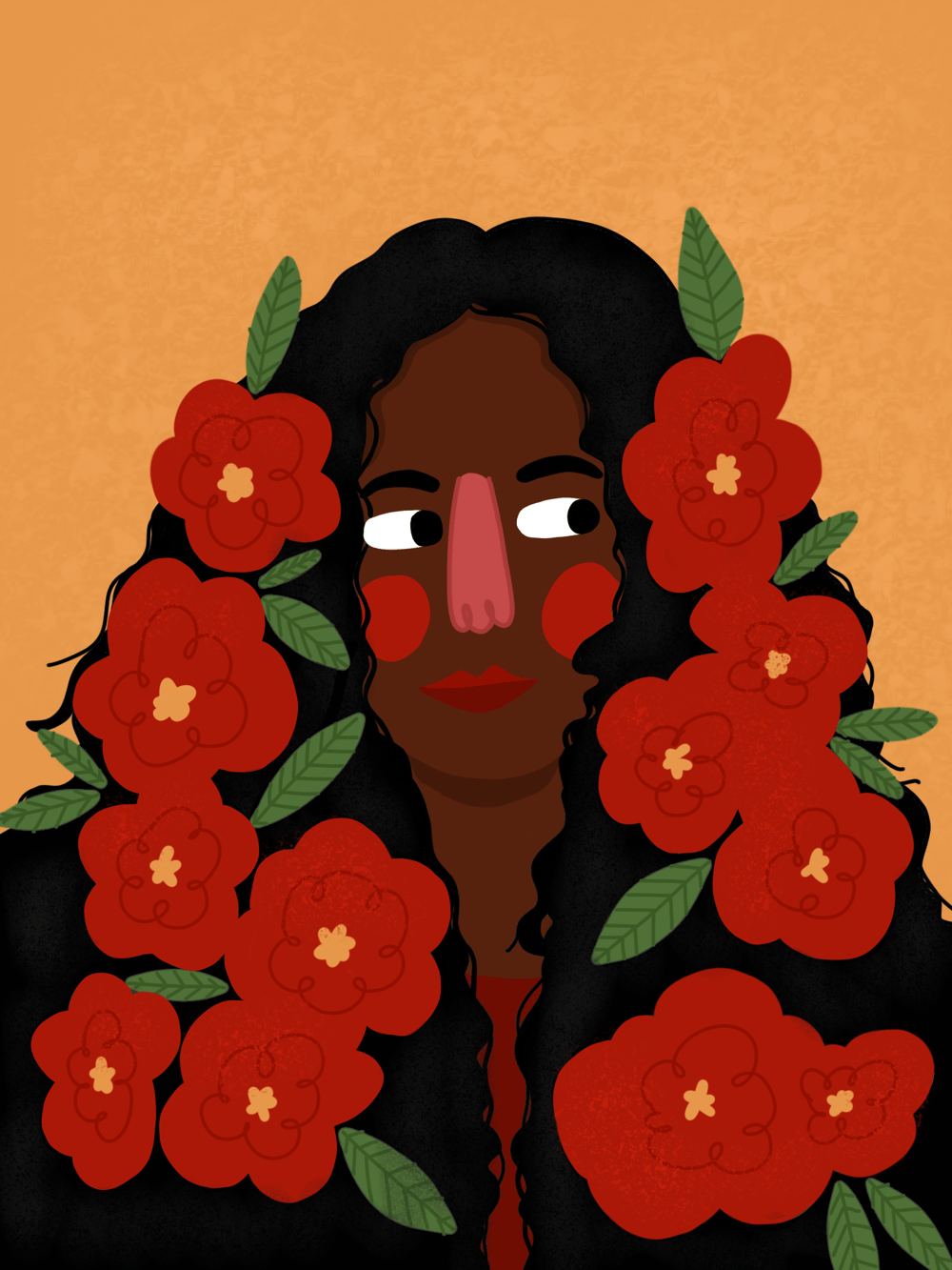flowery flower girl! - image 1 - student project