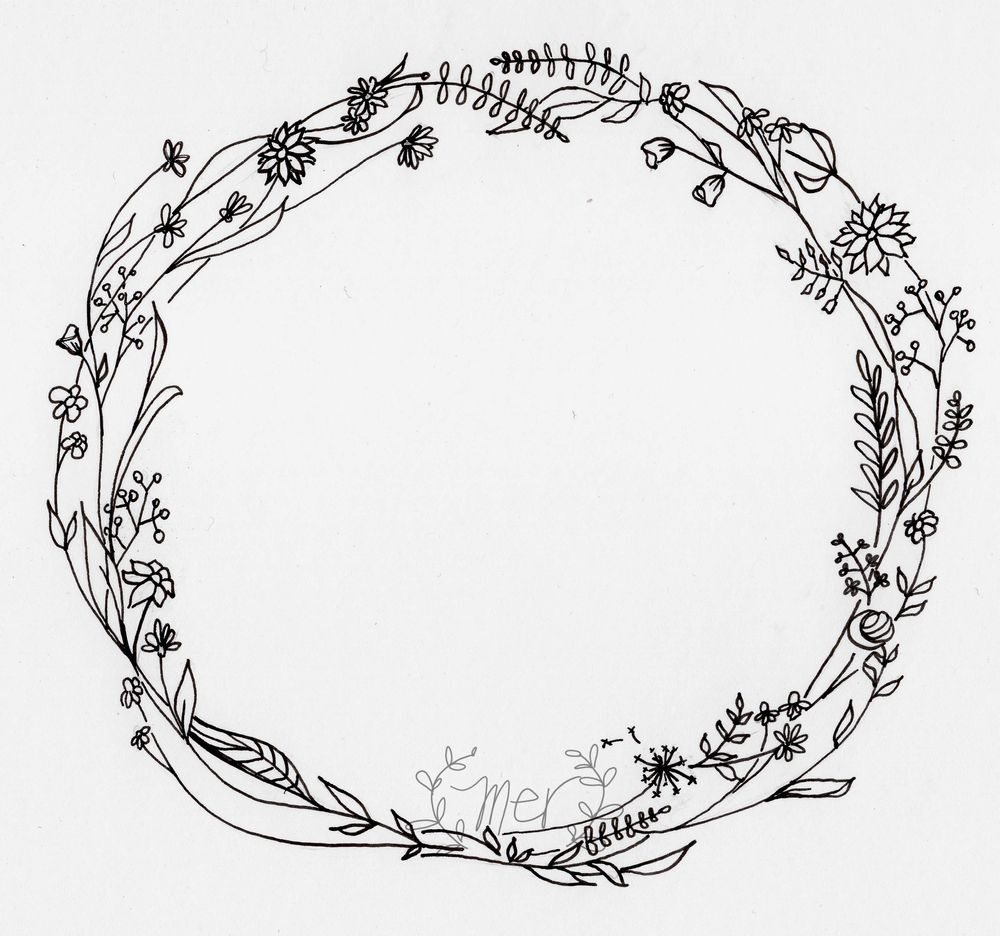 simple wreath - image 1 - student project