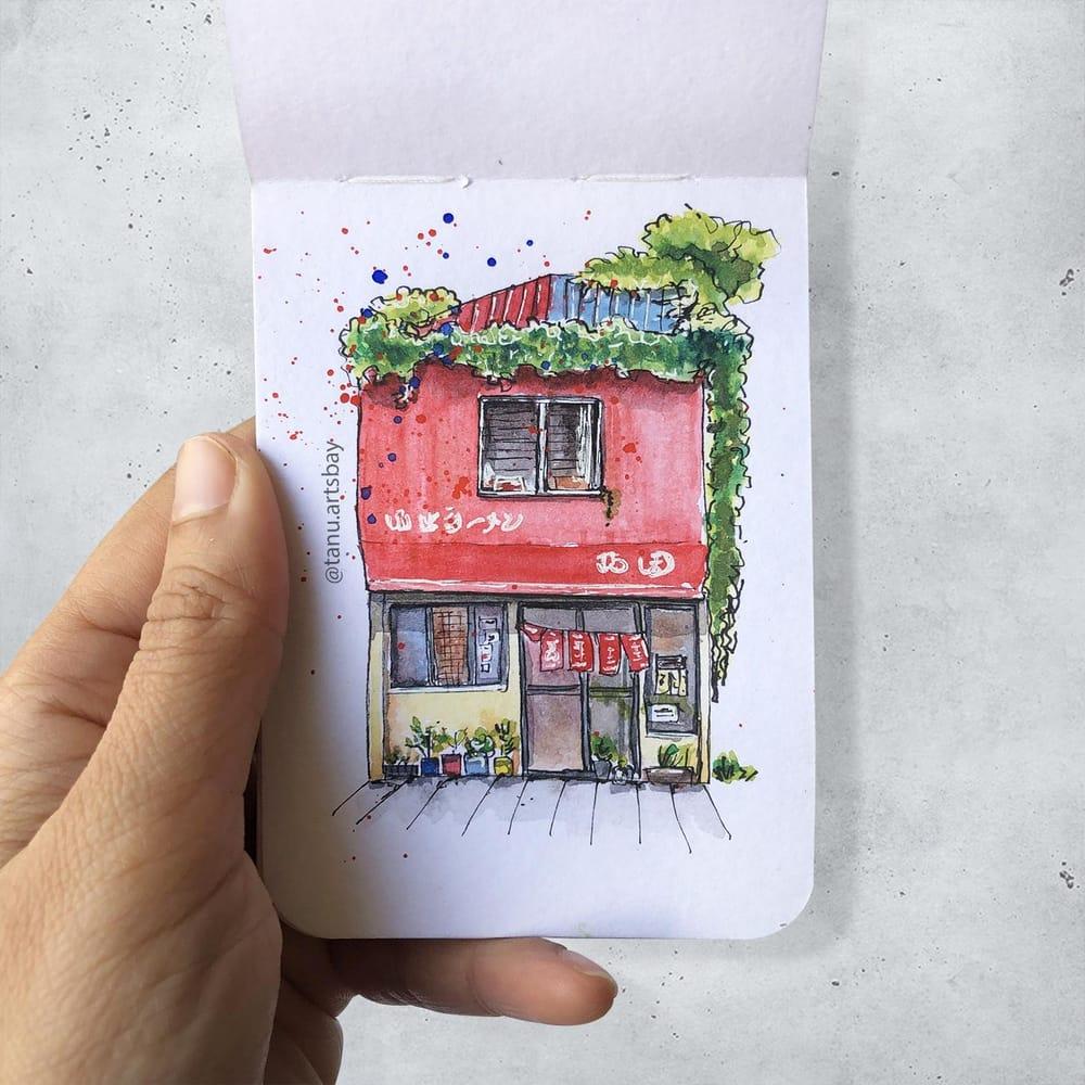 Urban illustration - image 4 - student project