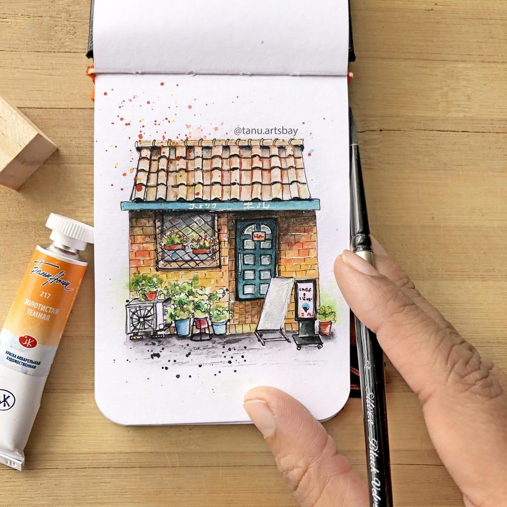 Urban illustration - image 1 - student project