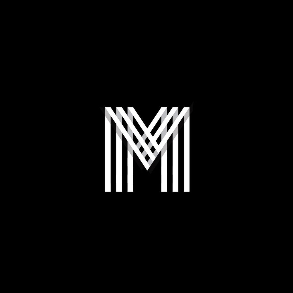 Letter M grid logo - image 3 - student project