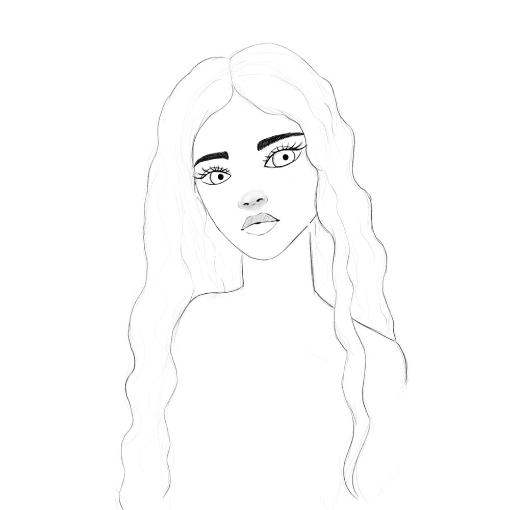 Colouring female characters practice - image 1 - student project