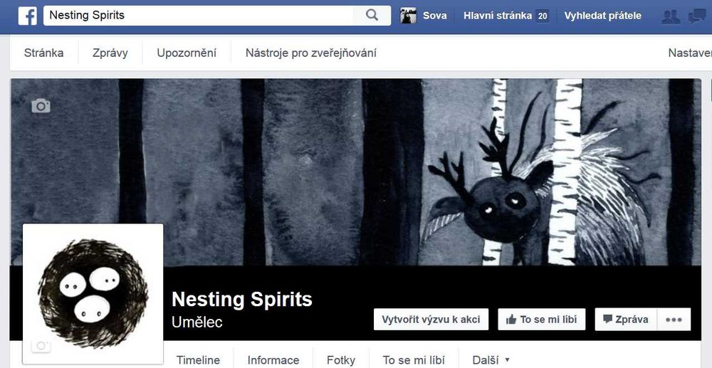 Nesting Spirits & social networks - image 1 - student project