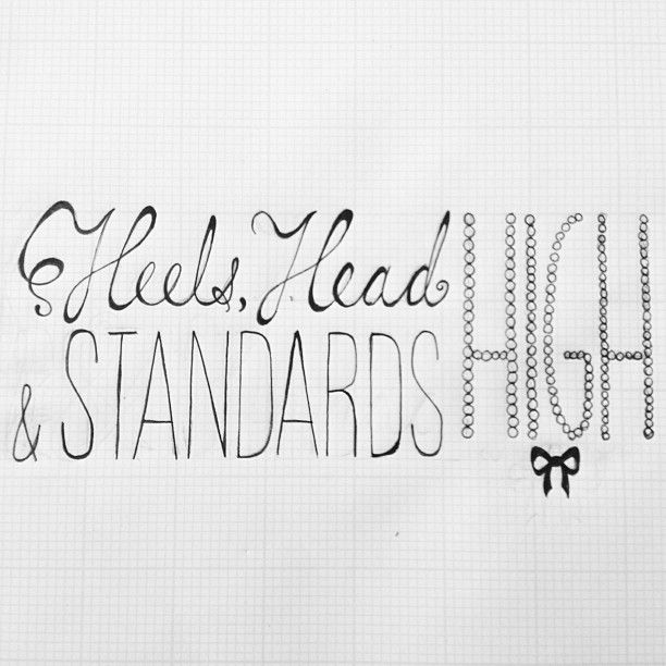 Heels, head and standards high - image 1 - student project