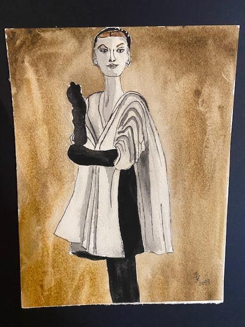 Fashion Illustration - image 1 - student project