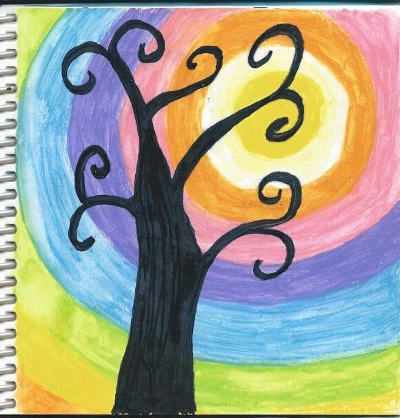 Swirly Tree - image 1 - student project