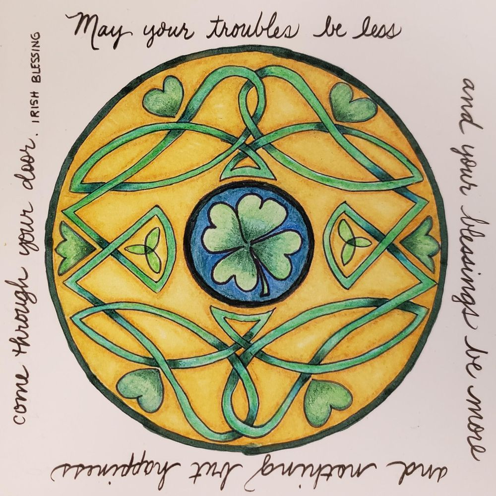 May your trouble be less Interlocking Design - image 1 - student project
