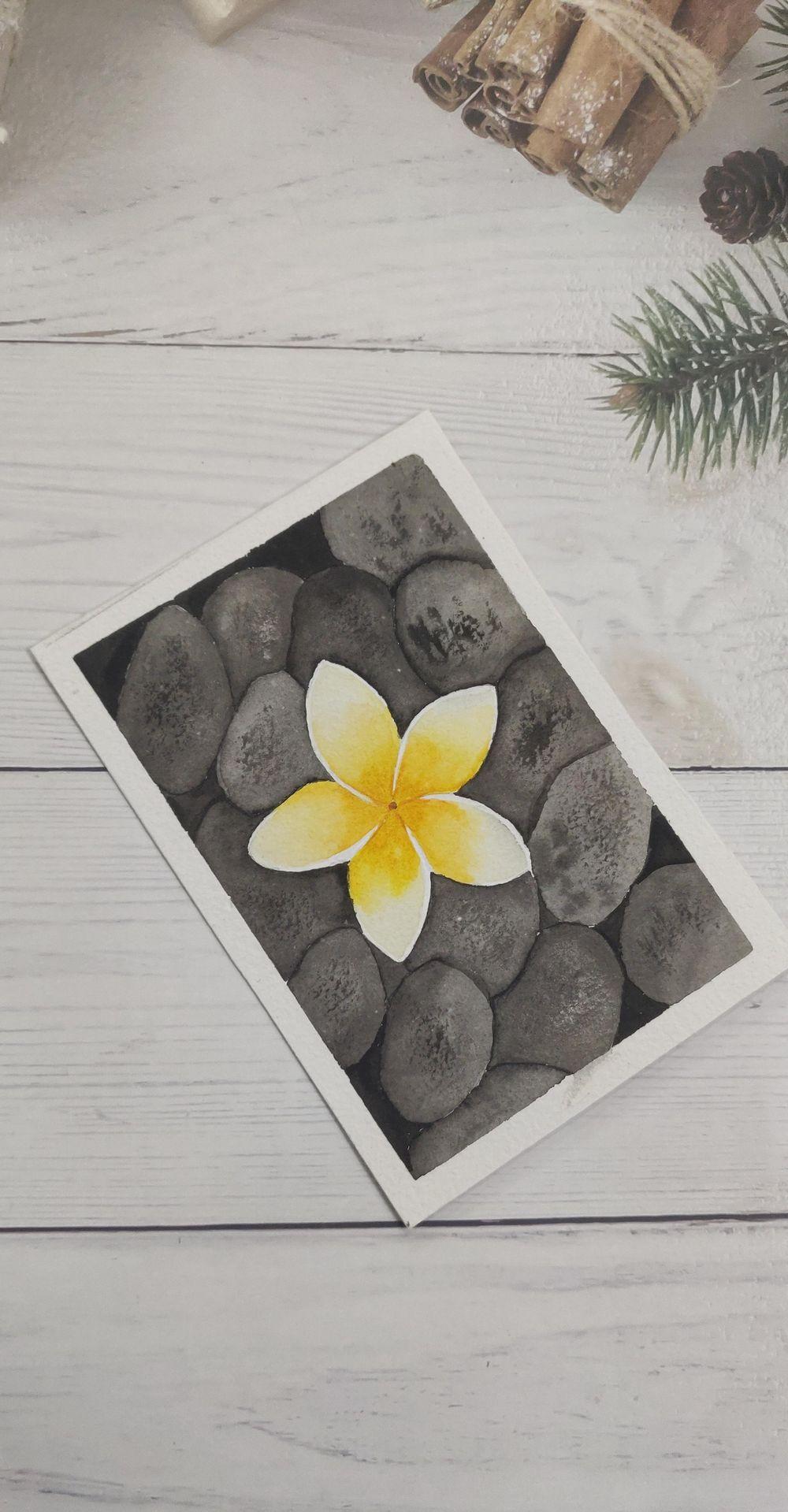 Watercolor postcards: Color splash series - image 12 - student project