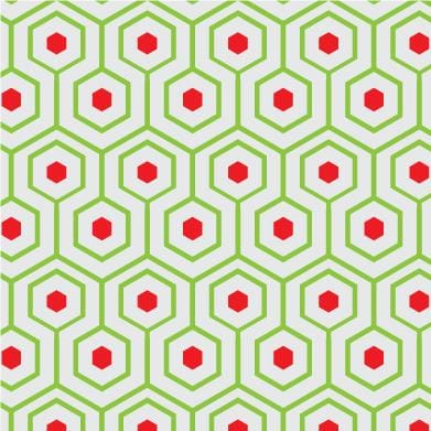 Meandering Hexagon Pattern - image 1 - student project