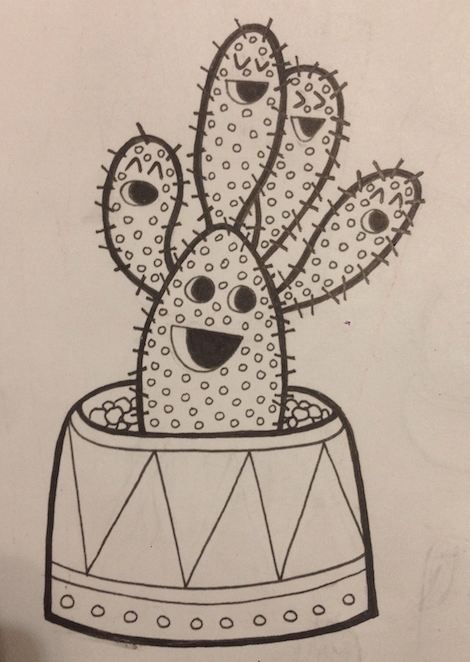 Cacti-Party - image 1 - student project