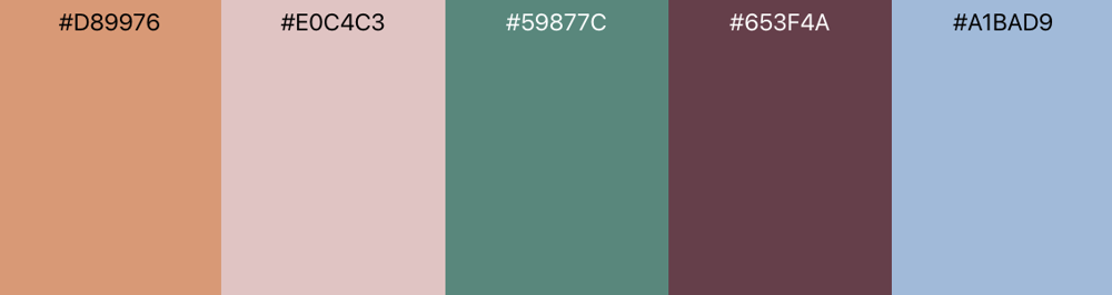 Renoir-Inspired Color Palette - image 2 - student project