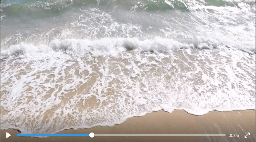 Waves gently lapping the shore - image 1 - student project