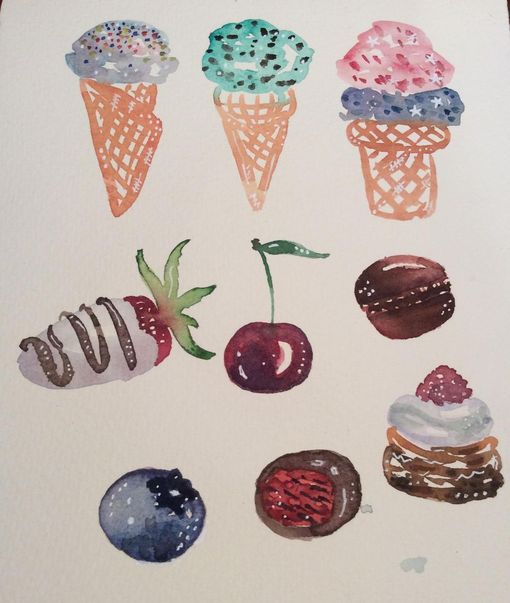 Starting sweeties! - image 2 - student project