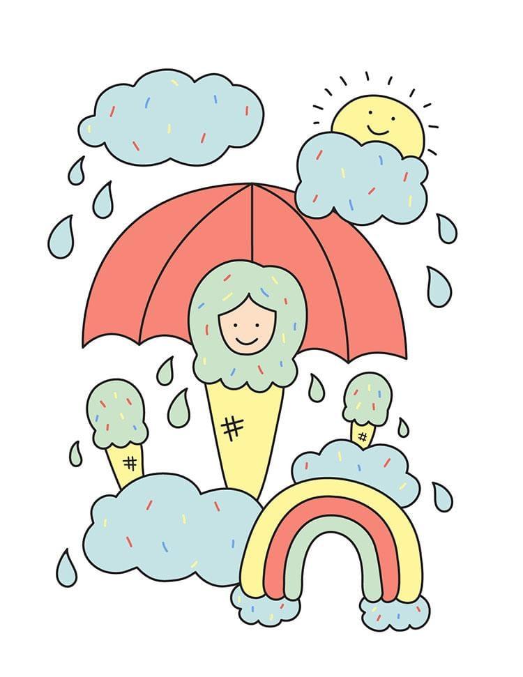 You Scream, I Scream, It's Raining Ice Cream! - image 2 - student project