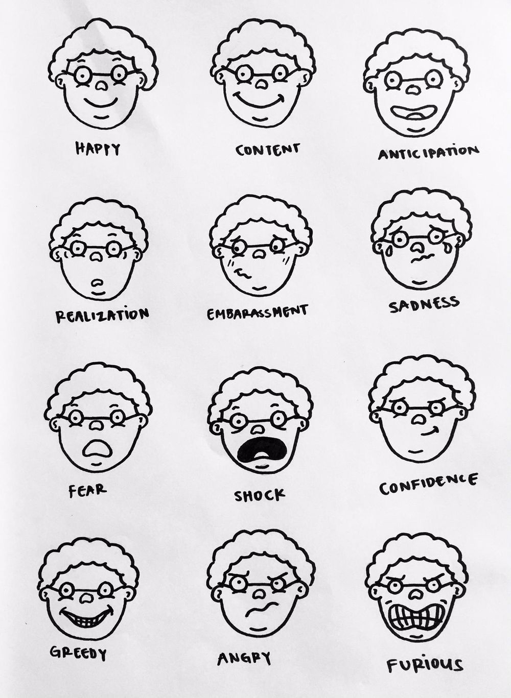 Many Faces of Grandma - image 1 - student project