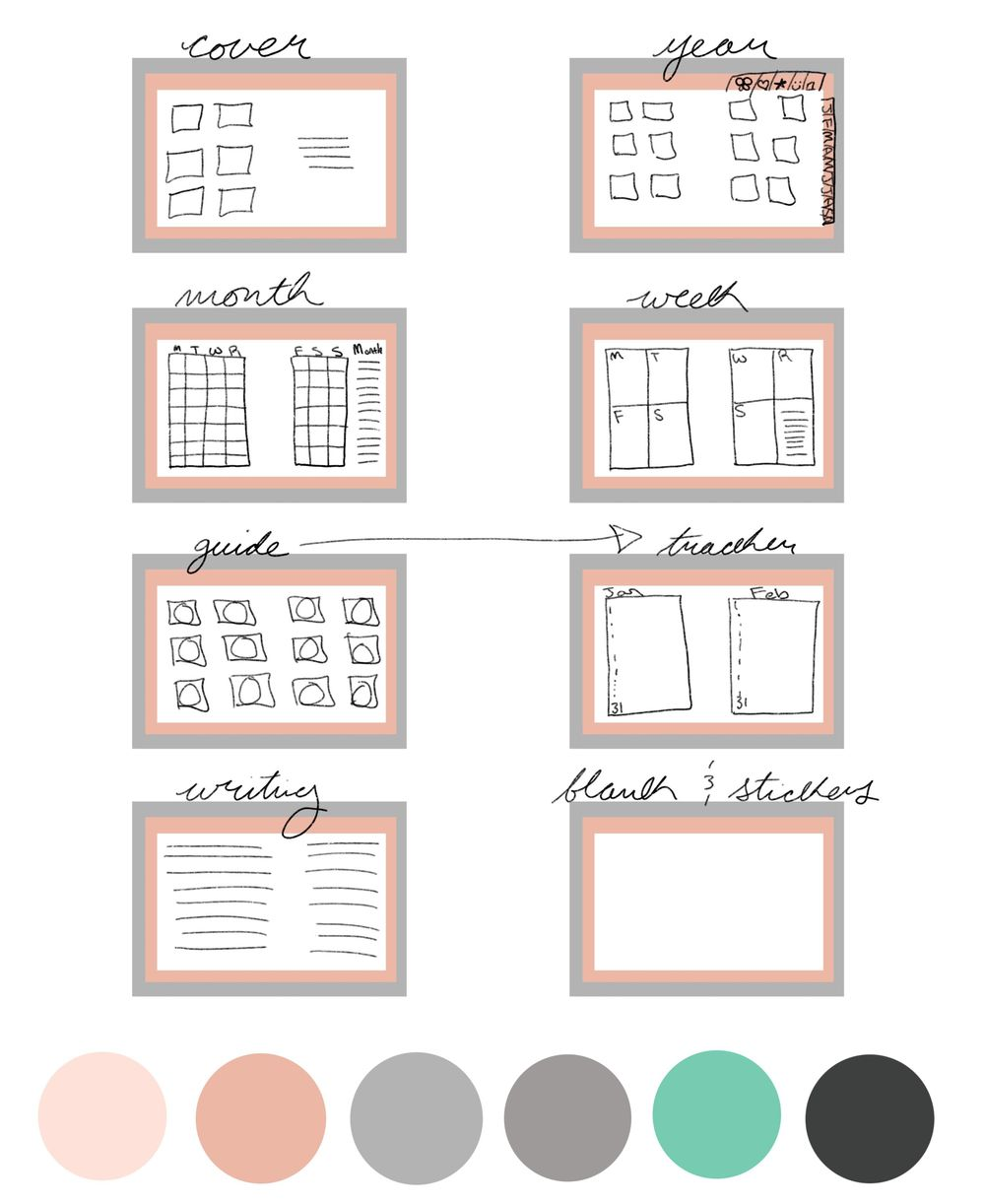 Pastel Pink Planner - image 1 - student project